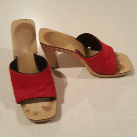 520cf2bcbe3 🍒🍒🍒Zodiac 8 red fur heels