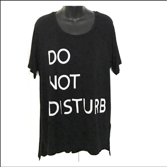Salle Nwt Graphic Sleep Shirt Do Not Disturb M M From