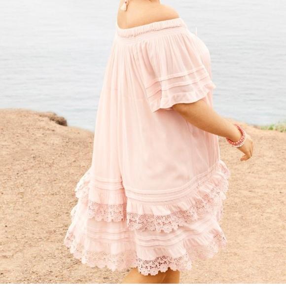 29 off lane bryant dresses skirts plus size boho two for Lane bryant wedding dress