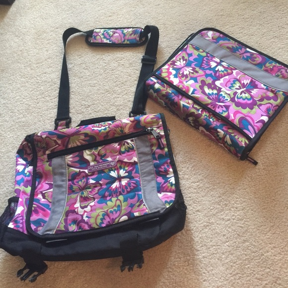 2ea1c51ad6d0 Messenger style book bag with matching binder