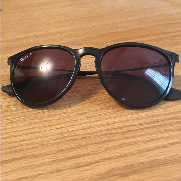 8d9a5fe9d0 Polarized Ray-Ban Erika Black Purple Sunglasses.  M 595a88747f0a053df5010b3e. Other Accessories ...