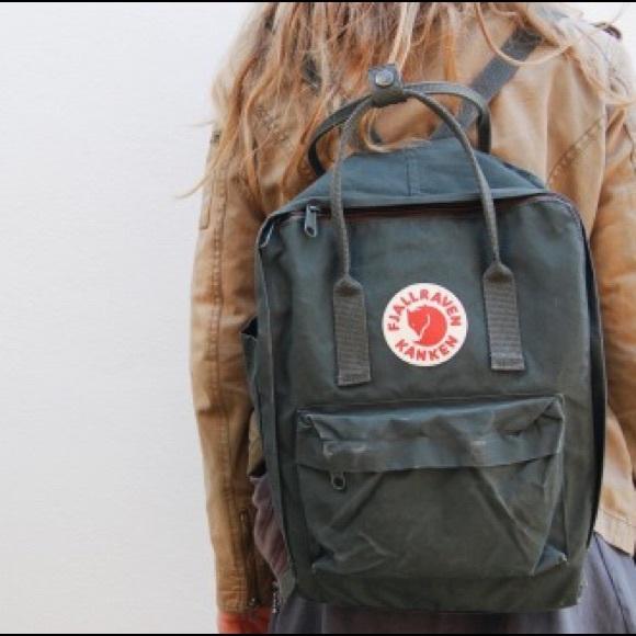 13c3441d74 Fjallraven Handbags - Fjall raven kanken backpack graphite slate