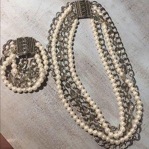 Jewelry - Premier designs Taylor necklace and bracelet set