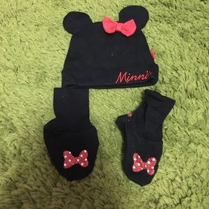 💖 Minnie Hat and socks