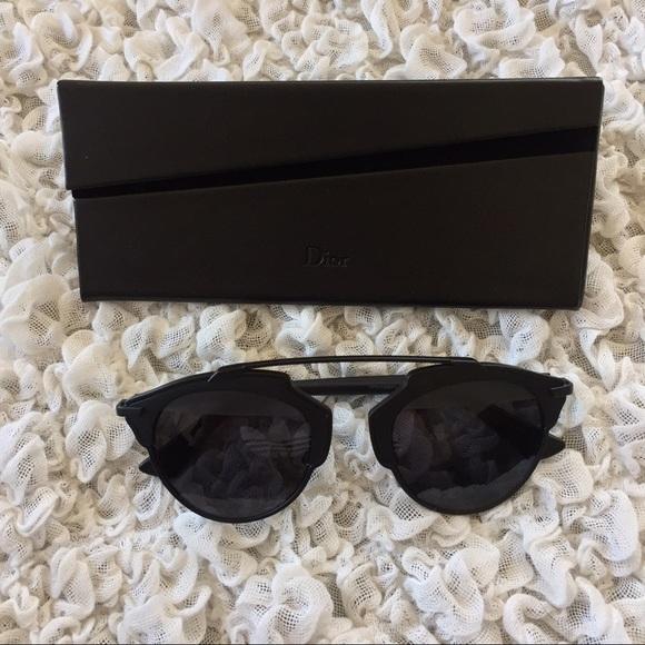f7a4b562297d Dior Accessories | New So Real Matte Black Sunglasses | Poshmark