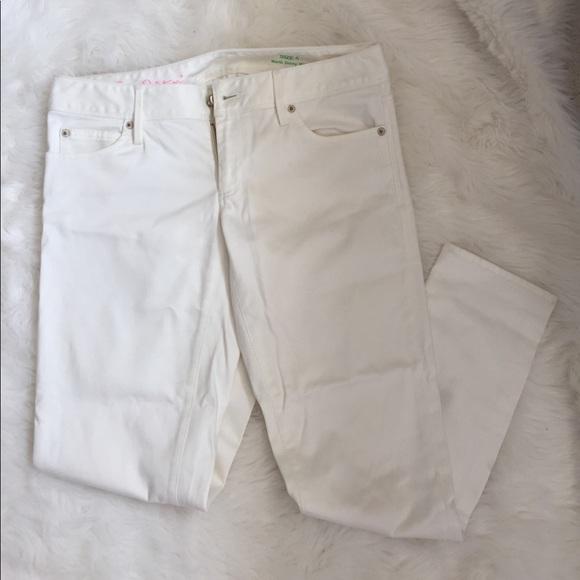 Lilly Pulitzer Pants Size 4 Worth Skinny Cream Poshmark