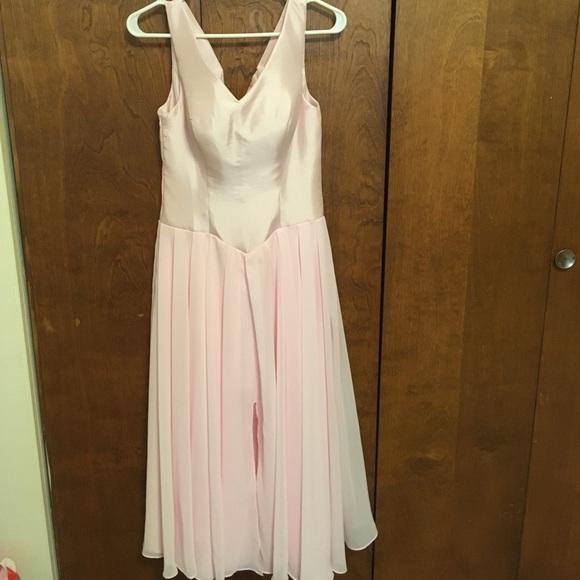 custom Dresses & Skirts - NWOT ballerina pink crisscross back cocktail dress