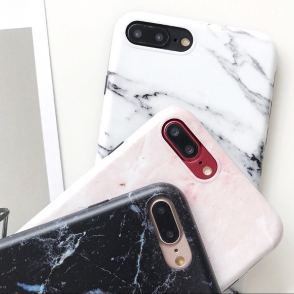 Bundle Deal White Marble Iphone Case Popsocket From