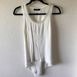 ANGL Tops - White racerback top