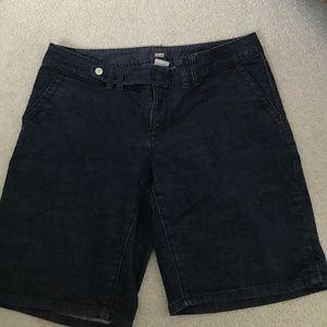 Old Navy Plus Denim Bermuda Shorts Size 16