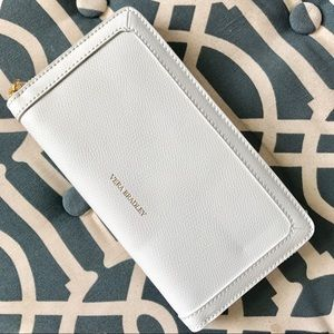 NWT White Vera Bradley Wallet