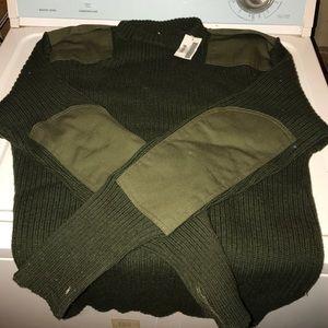 USMC Green sweaterNWT for sale