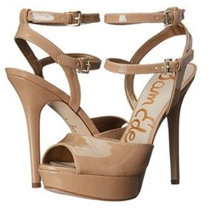 Sam Edelman Nadine Almond Stiletto Heels 5.5