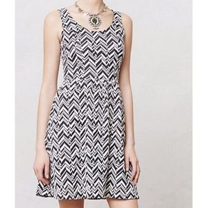 Anthropologie Textured Caldera Dress Sz L EUC!