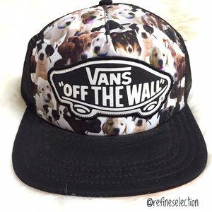 Vans x ASPCA Puppies Beach Girl Black Trucker Hat