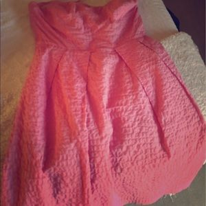 J. Crew Dresses - J Crew Strapless Pink Cocktail Dress