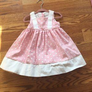 Other - 🌸Beautiful Pink & White Polkadot Dress