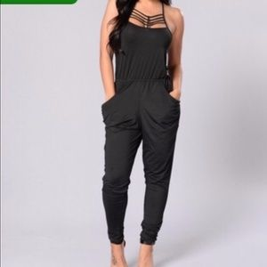 SOLD OUT Fashion Nova Black Jumpsuit NWT