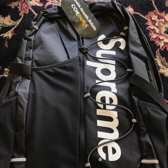1e0ea7279 Supreme Box Logo Backpack Cordura SS17 NWT