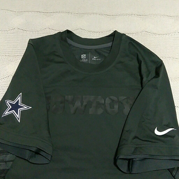 Dallas Cowboys NFL Nike Dri-Fit Jersey. M 595acbeff092824d7301f673. Other  Shirts ... 84c704a46