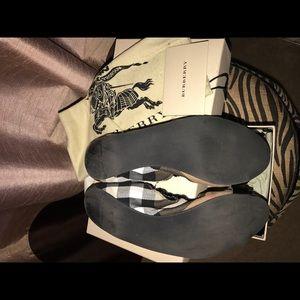 Burberry Shoes - Burberry Ballet Flats (size 40.5)