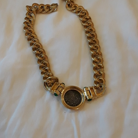 56 off cinero jewelry cinero vintage gold plated coin for Is gold plated jewelry worth anything