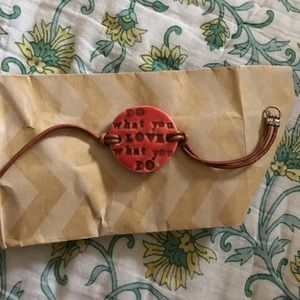 Do what you love to do bracelet