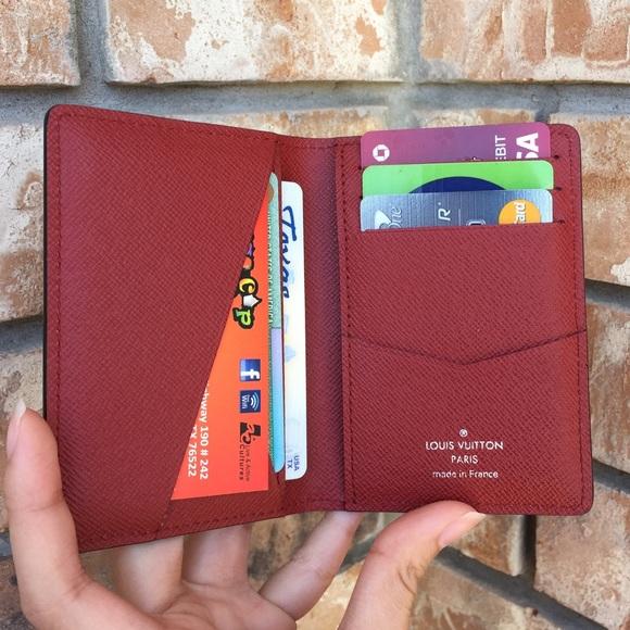 258e0e1e07ff Louis Vuitton Handbags - Louis Vuitton pocket organizer card holder