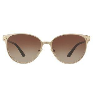 Versace VE2168 Sunglasses Gold Frame w/Logo
