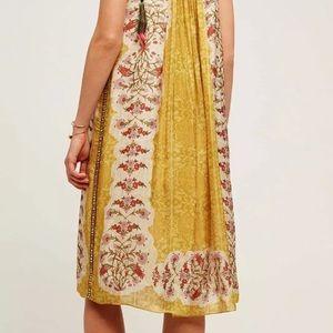 6ae3ee671af1 Anthropologie Dresses - 🆕 Anthro Yellow Soleil Swing Dress Bhanuni by J