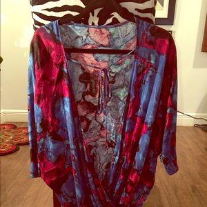 Vintage express tunic/ short dress
