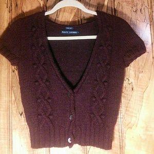 Ralph Lauren short sleeve sweater