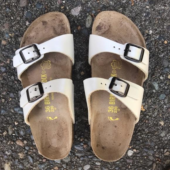 d27783bbcf5 Birkenstock Shoes - Birkenstock Sydney Pearl White