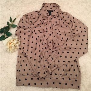 ✨WHBM polka dot top