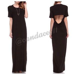The Black Maxi Dress