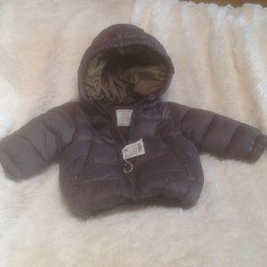 Zara baby boy puffer jacket Sz 6-9 mos