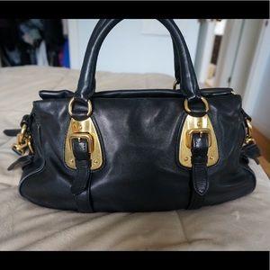 daab642133f7c8 Prada Bags   Authentic Bauletto Nero Soft Calf Leather   Poshmark