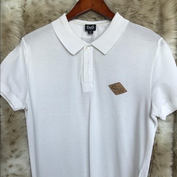 33cce1f8f Dolce & Gabbana Shirts   Dolce Gabbana Logo Mens Polo Shirt   Poshmark