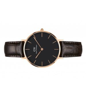 Daniel Wellington York Petite Watch - BLACK
