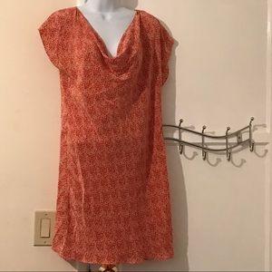 Anthropolgie 100% silk dress