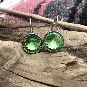 Jewelry - Handcrafted earrings with Swarovski crystal #221