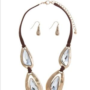 Evolving Always Jewelry - 🆕Large Crystal Framed Statement Necklace