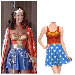 Dresses & Skirts - Wonder Women Skirt Dress