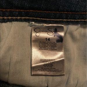 Jessica Simpson Shorts - Jessica Simpson 5-Pocket Jean Shorts EUC