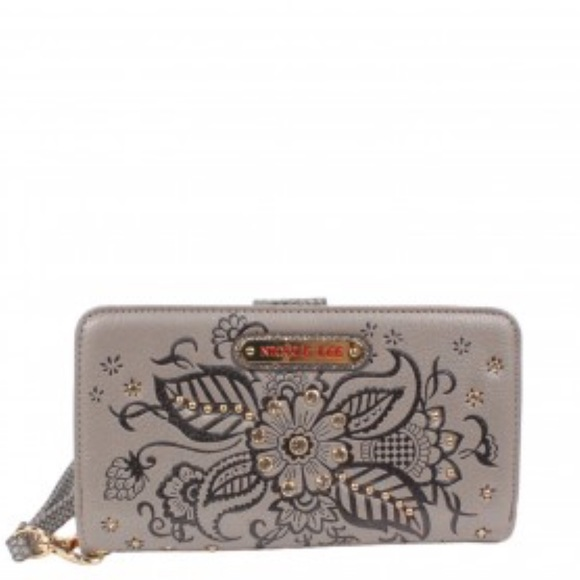 Nicole Lee Handbags - Nicole Lee wallet / wristlet - SILVER  NEW