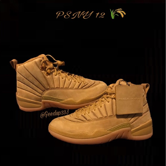 best service a8c2e 1f979 Air Jordan 12 PSNY Wheat NWT