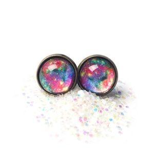 Galaxy Nebula Earrings