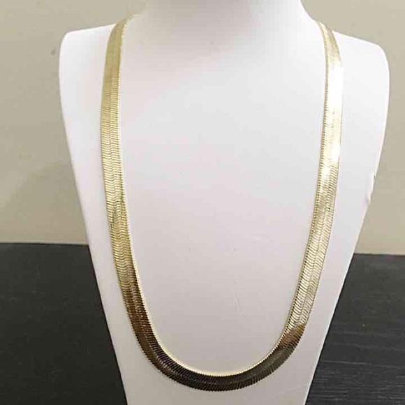 cd983352f Accessories   14k Solid Gold Filled Herringbone Chain 24   Poshmark