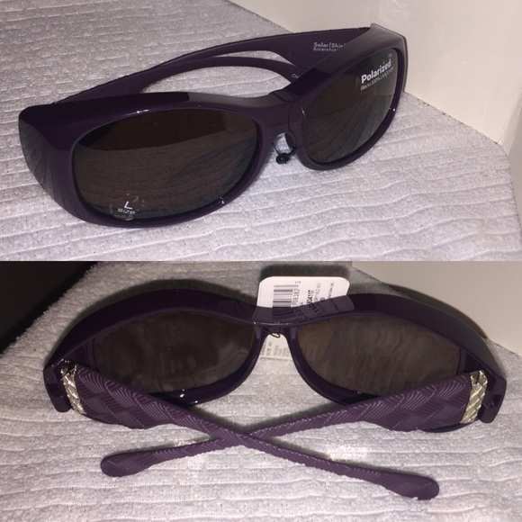 8fb49bc1a32 Solar Shield Polarized Wrap Around Sunglasses