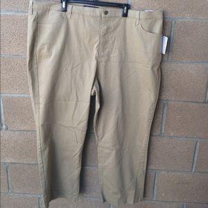 NYDJ crop jeans pants khaki size 26W womens NWT